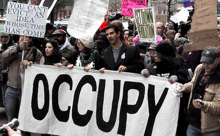 OWS Returns to Zuccotti Park on New Year's Eve (video)