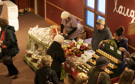 Get Out And Buy Local! Winter Farmers Markets Are Thriving