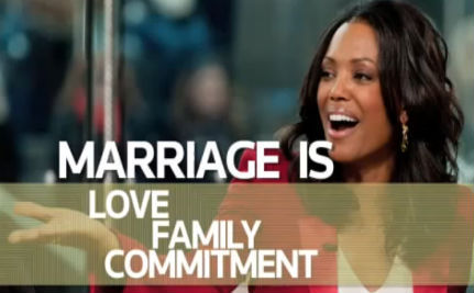 Aisha Tyler: Gays Can Save Marriage, Straights Are F-ing it Up