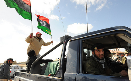 Libyans Ransack Interim Government's Headquarters