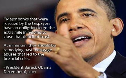 Tell Obama: Don't Let Banks Off The Hook For Mortgage Fraud