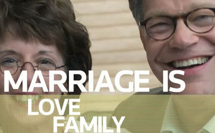 Al Franken Supports Marriage Equality (VIDEO)