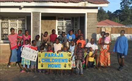 Reddit Crowdsources $65,000 for Kenyan Orphanage