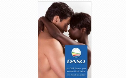 Sexy Anti-Racism Poster Causes Stir in South Africa