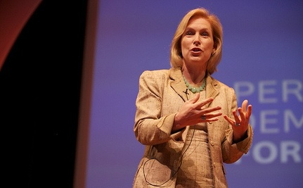 Sens. Gillibrand and Boxer Launch Women's Rights Campaign [VIDEO]