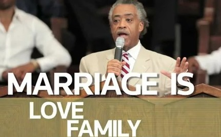 Rev. Al Sharpton Supports Marriage Equality (VIDEO)