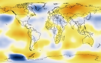Watch A Century Of Global Warming In Less Than 30 Seconds