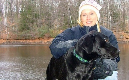 Winter Rescue: Dog Slips Into Icy River