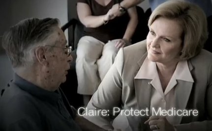 Senator Claire McCaskill Ready To Hit The Airwaves [VIDEO]