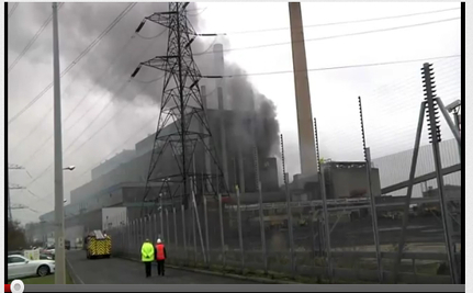 Biomass Plant Blaze Burns UK Renewable Energy Capacity