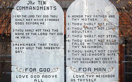 Thou Shalt Display The Ten Commandments In Georgia Schools