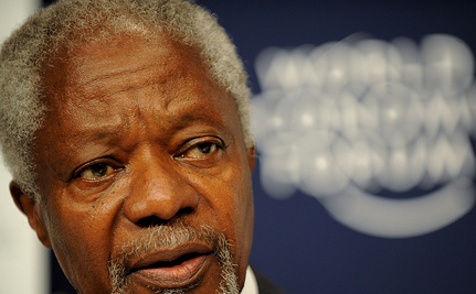 Syrian Tanks Shell Idlib As Kofi Annan Speaks with Assad