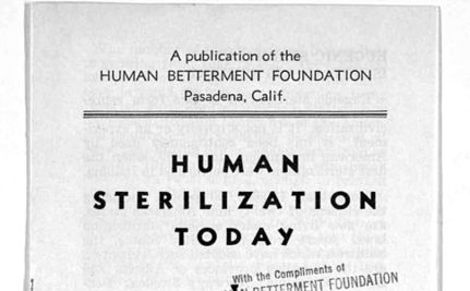 Forced Sterilization Remains Worldwide Concern