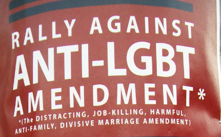 Ted Olson Joins Battle Against NC's Anti-LGBT Amendment 1