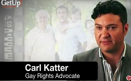 Brother of Australian Gay Marriage Foe Records Pro Gay PSA