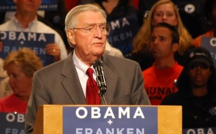 Walter Mondale Joins Fight Against MN Gay Marriage Amendment