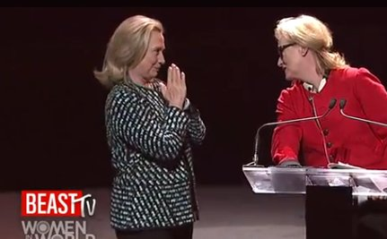 Meryl Streep on Hillary Clinton (VIDEO)