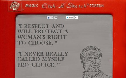 "Romney Advisor:  ""Etch A Sketch"" Campaign Means He Can Start All Over For General"