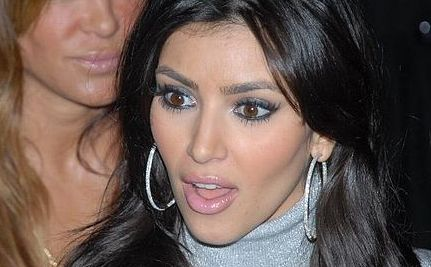 """Fur Hag"" Kim Kardashian Flour-Bombed (Video)"