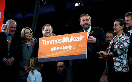 Thomas Mulcair: Canada's New Leader of the Opposition and NDP