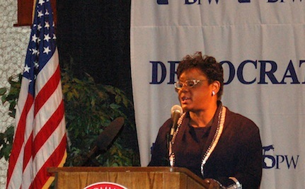 Congresswoman Recounts Rape, Violence to Introduce Violence Against Women Act