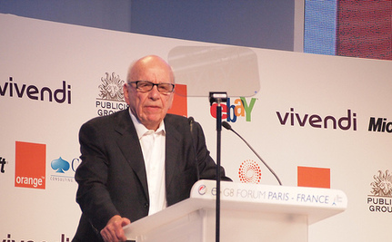Murdoch's News Corp. Charged With TV Piracy in Australia