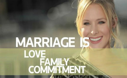 Kristen Bell: Gay Marriage Ban 'Breaks My Heart'