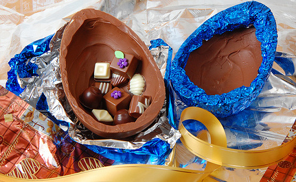 Easter Eggs: More Packaging Than Chocolate