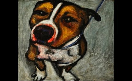 Museum To Offer Paintings Of Euthanized Dogs