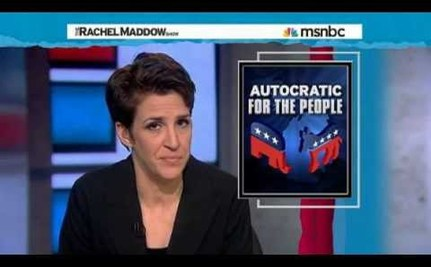 Michigan GOP Attacks Rachel Maddow For 'Whining' About Democracy