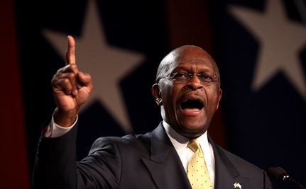 Herman Cain Explains The Gender Gap: 'Men Are Much More Familiar' With Policy Than 'Other People'