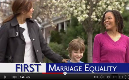 Rep Steve Rothman Includes Marriage Equality in TV Ad