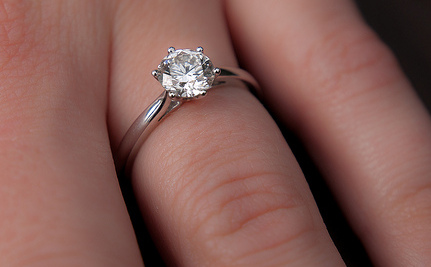 """When A Diamond Ring Was """"Insurance"""""""