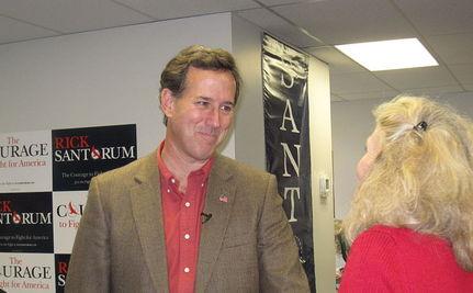 Is Santorum Trying to Torpedo Romney?