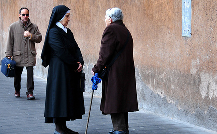 Pope Says American Nuns Too Focused On Poor, Not Enough On Gay Bashing