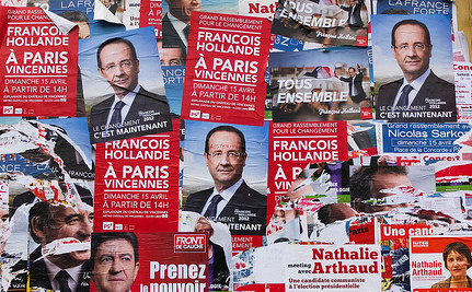 French Polls: Hollande-Sarkozy Runoff, Far Right Leader in 3rd Place