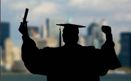 Austin Fisher Can Walk in Graduation