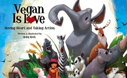 Children's Book Says Vegan is Love, But Does Knowledge Lead to Power or Fear?