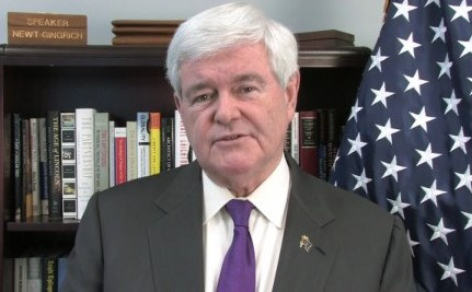 Newt Supports North Carolina Gay Marriage Ban