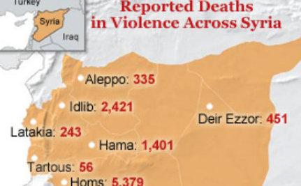 Massive Explosion in Hama Threatens Syrian Ceasefire