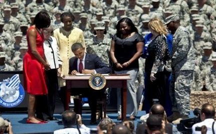 Obama Signs Executive Order to Protect Veterans' G.I. Bill Benefits
