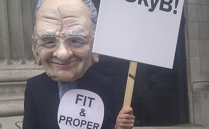 "Rupert Murdoch Is ""Not a Fit Person"" For His Job"