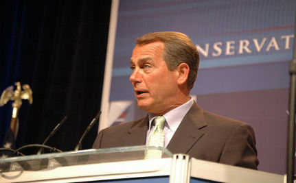 Boehner Doesn't Want Gay Soldiers Having Equal Benefits