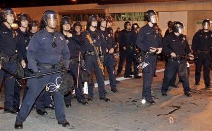 Judge Threatens Sanctions Against Oakland Police For 'Military-Type Response' To Occupy Protests