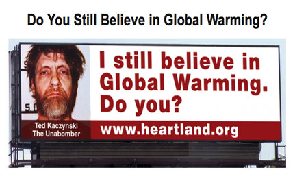 Global Warming Believers Are Just Like Mass Murderers, Says Heartland Institute