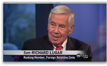 Lugar Loses To Tea Party Challenger