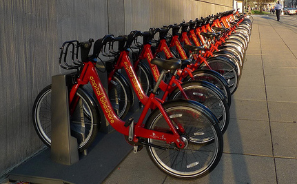 Study: Bike-Share Riders Aren't Wearing Helmets