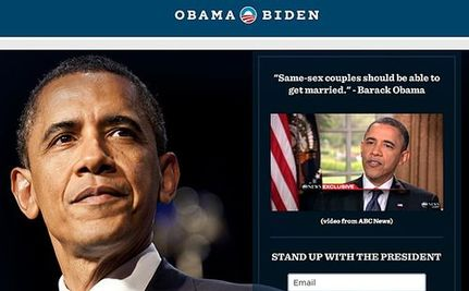 'Like Lincoln and Emancipation': Obama's Gay Marriage Evolution