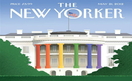 The New Yorker Celebrates Obama's Gay Marriage Evolution
