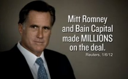 Romney and Democrats Continue To Battle On Bain And Steel [VIDEOS]